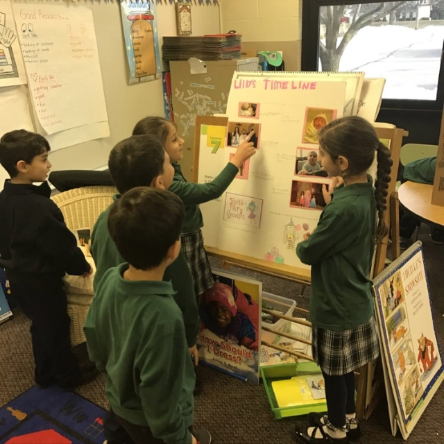 1st Grade Presentation Skills 1