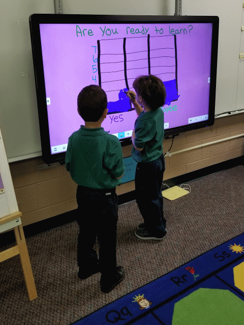 Learning About Graphs With Clevertouch 2
