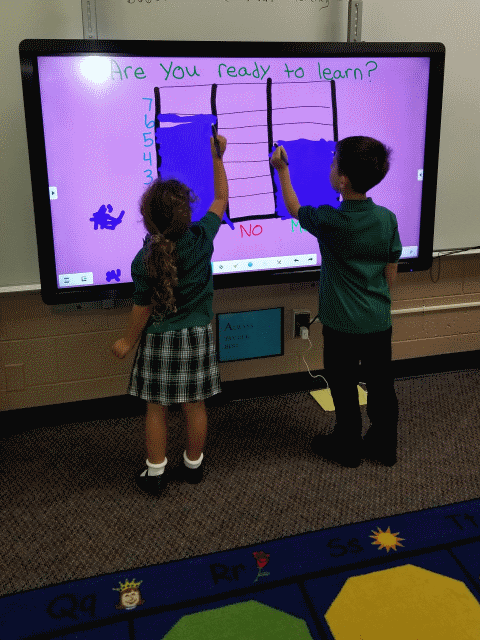 Learning About Graphs With Clevertouch 4